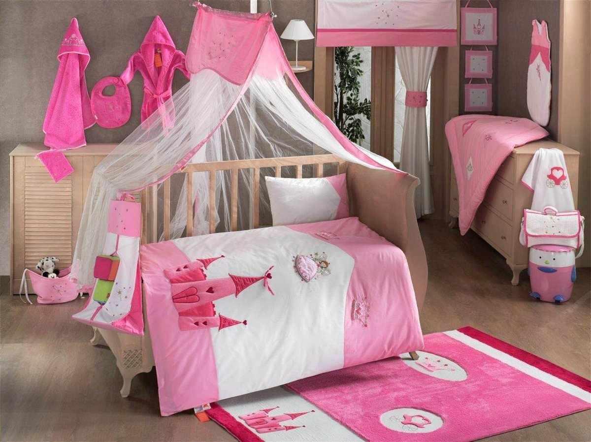Готовый балдахин для детской кроватки