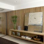 Бамбук на стене в интерьере