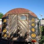 Декор бани на колесах