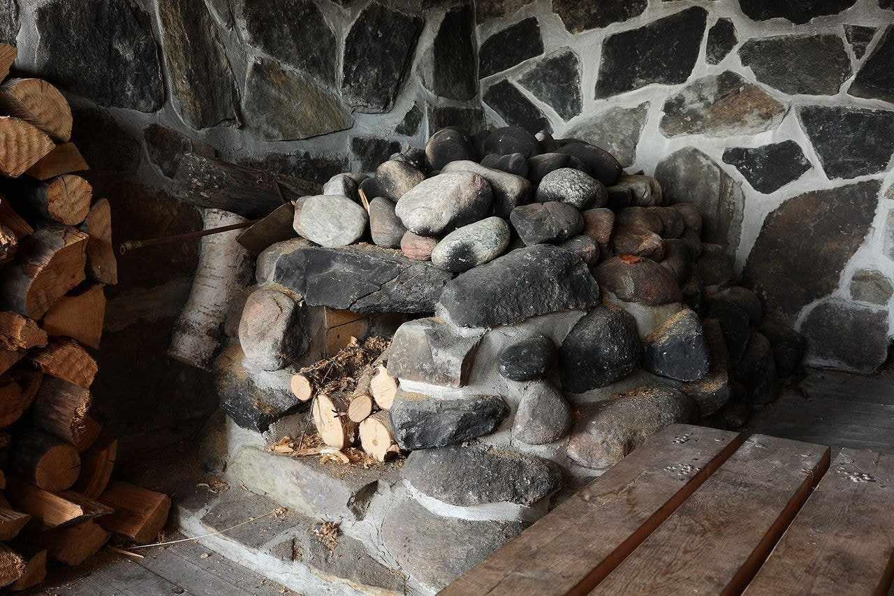 Камни в каменке