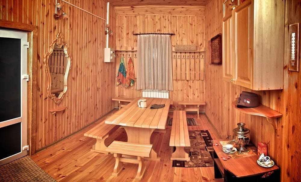 Мебель в бане