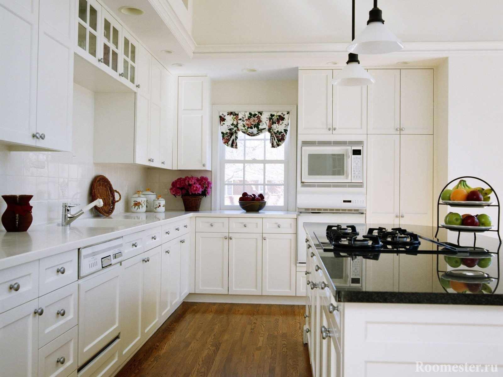 Эргономичное размещение рабочих зон в кухне