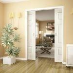 Раздвижные двери межкомнатные для классического интерьера