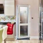 Дверь из ПВХ для кухни