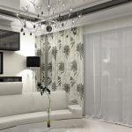 Дизайнерские шторы с принтом