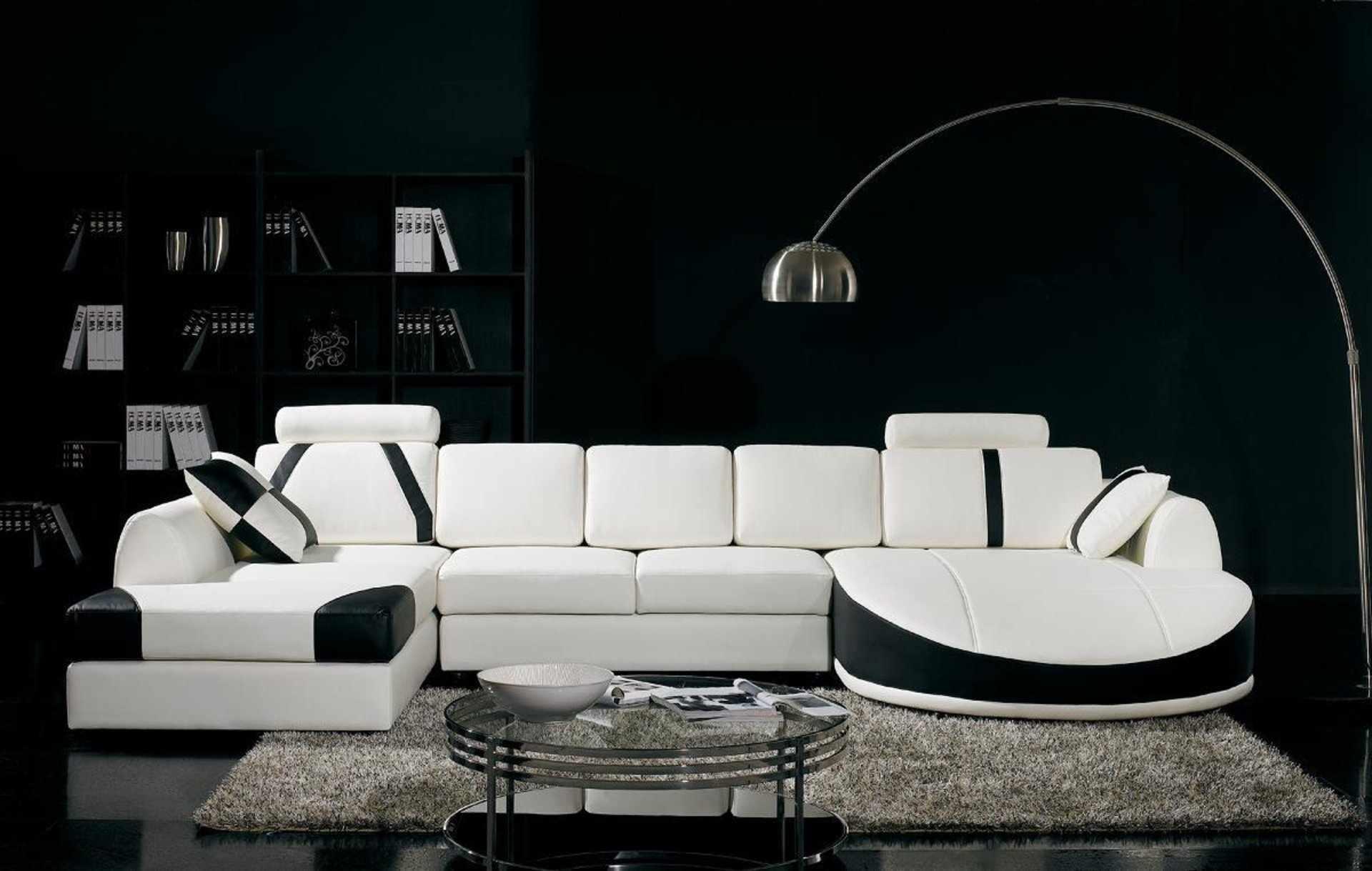 Черный цвет в дизайне квартиры