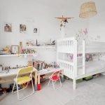 Белый цвет в дизайне комнаты для мальчика