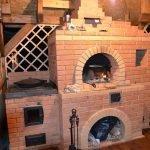 Каменная печка