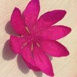 Изготавливаем основание цветка