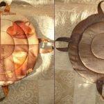 Круглые сидушки с петельками