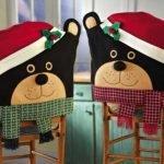 Мишки в новогодних шапках