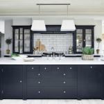 Белый цвет стен в интерьере кухни