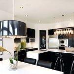 Потолок из гипсокартона на кухню