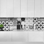 Фартук из керамической плитки на кухню