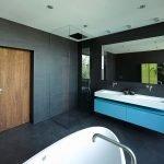 Минимализм в интерьере ванной комнаты