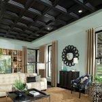 Деревянный потолок в доме