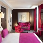 Черные акценты в дизайне спальни