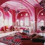 Большая комната в восточном стиле