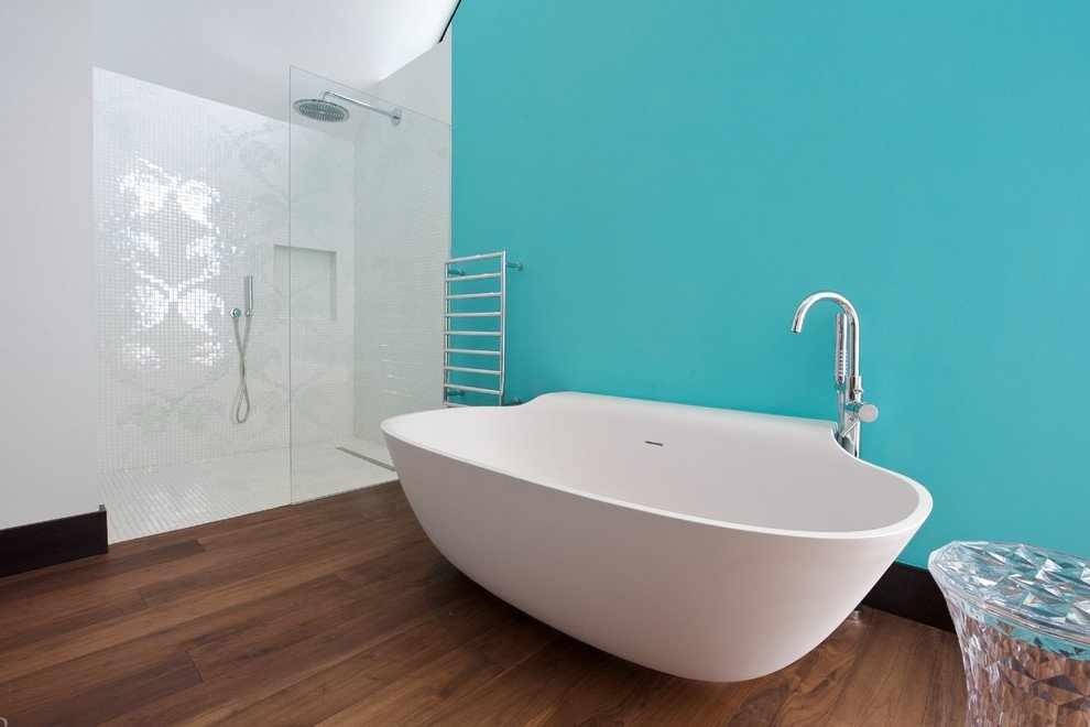 Цвет Тиффани в ванной