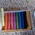 Делаем тычинки из ватных палочек