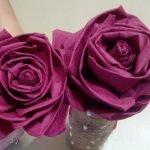 Пышные розы своими руками