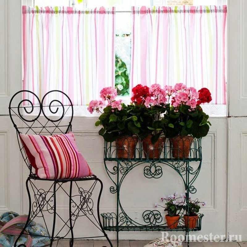 Цветы у окна