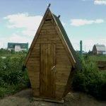 Сетчатый забор на даче