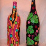 Узоры на бутылках