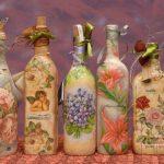 Бутылки с оригинальным оформлением
