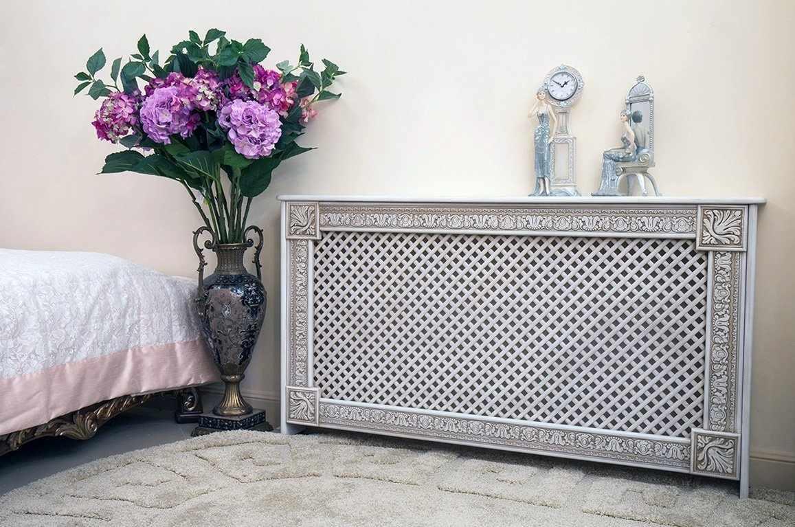 Декоративный экран на радиатор
