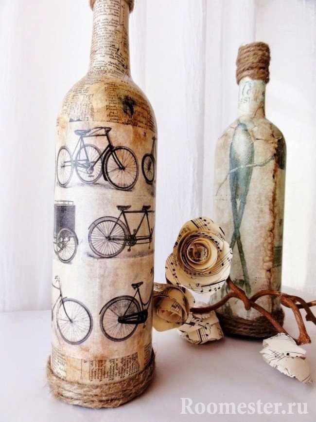 Роспись на винных бутылках