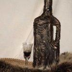 Рюмка и бутылка
