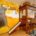 Художественная роспись на стенах детской