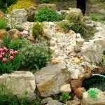 Альпинарий с фонтанчиком