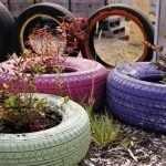 Разноцветные колеса