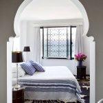 Восточная арка в спальне