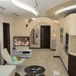Современный дизайн зала