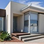 Минимализм в дизайне фасада