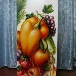 Роспись холодильника
