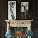 Картина с жирафом