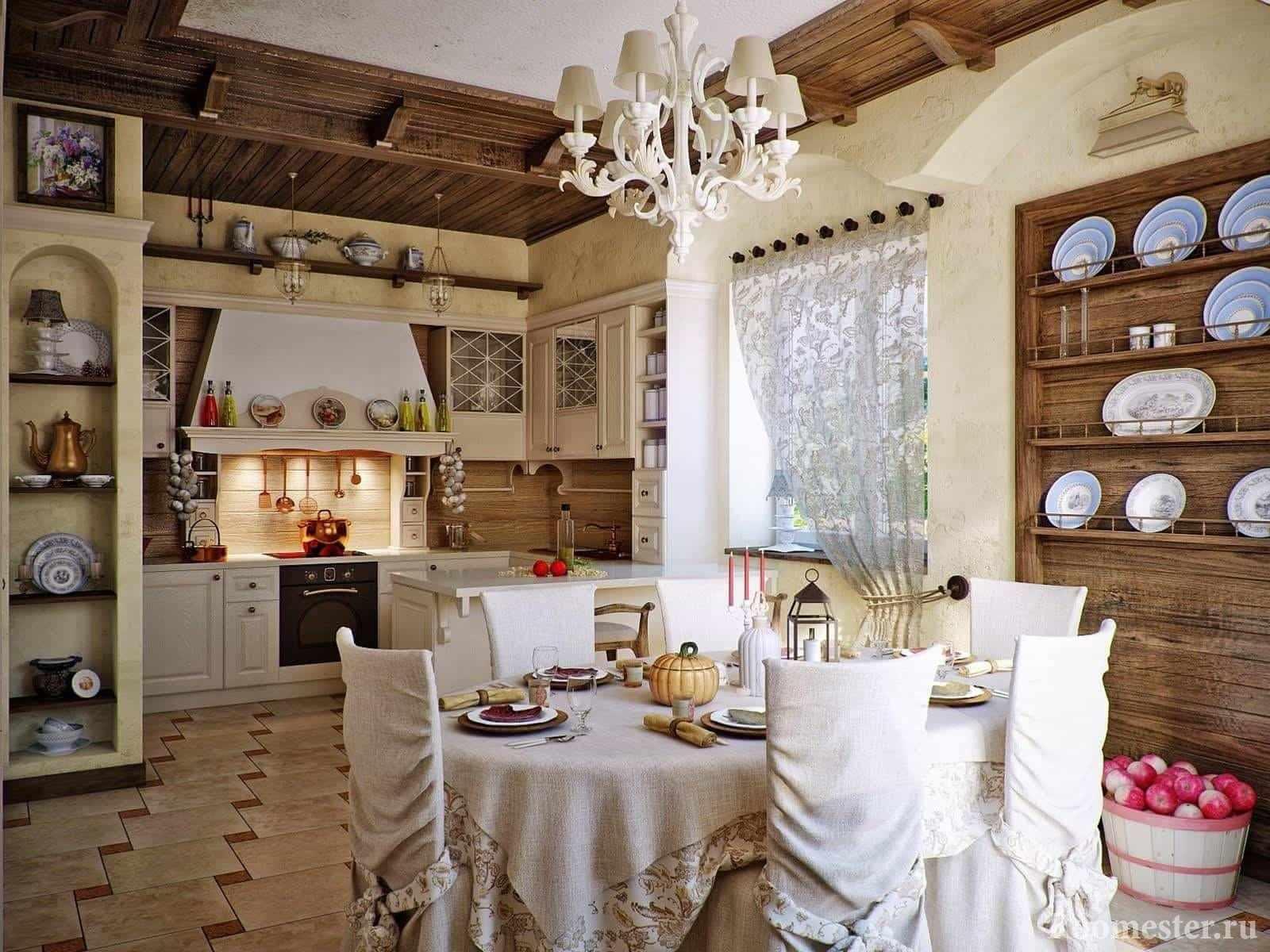 Декор кухни в разных стилях