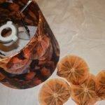 Вырезаем апельсины
