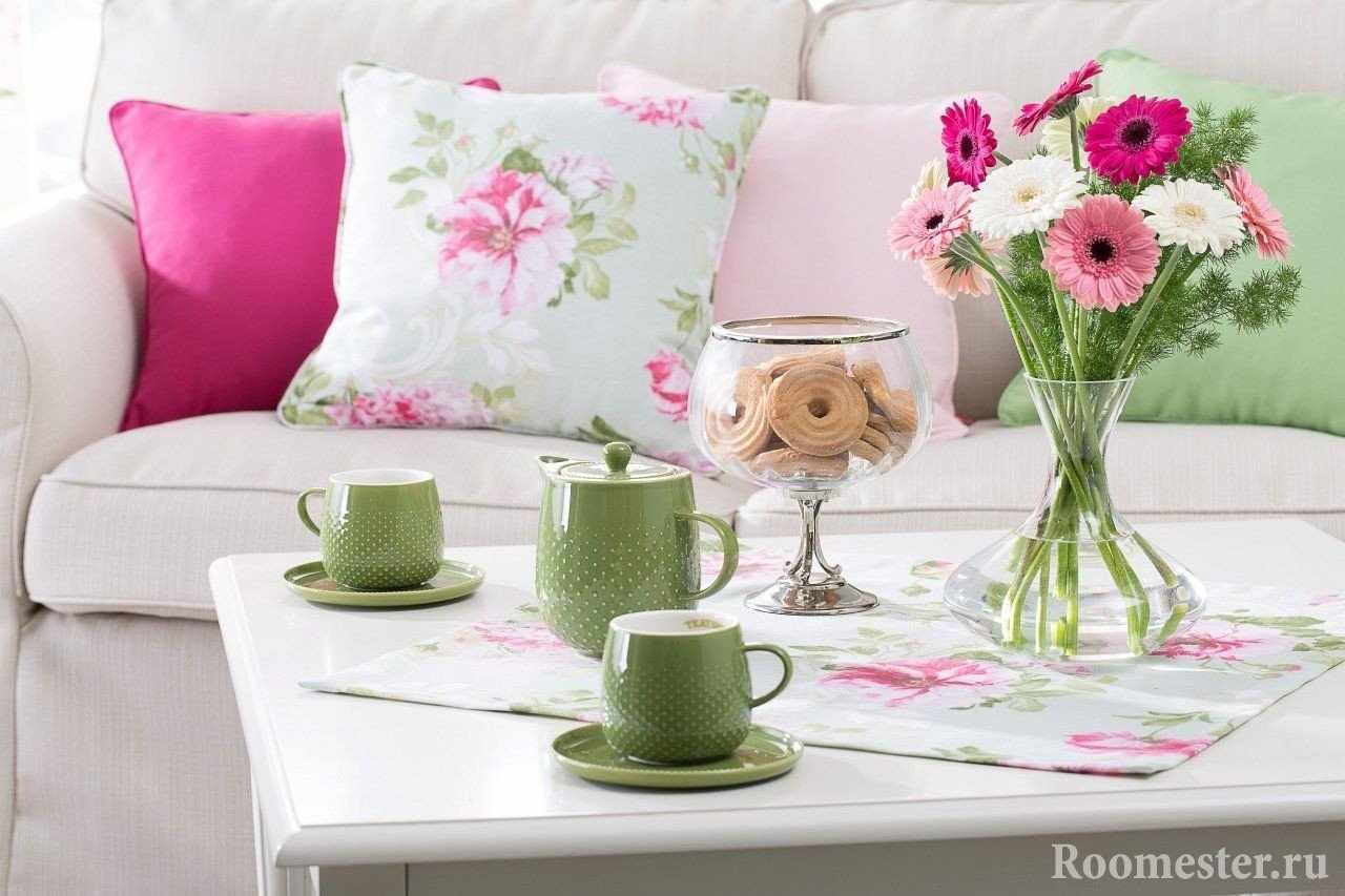 Весенний декор квартиры на 8 марта