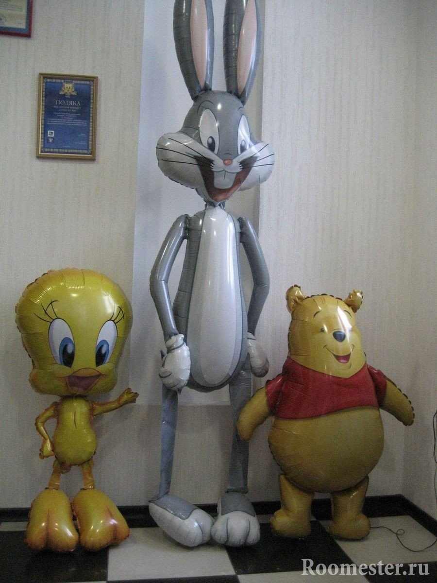 Кролик и Винни Пух