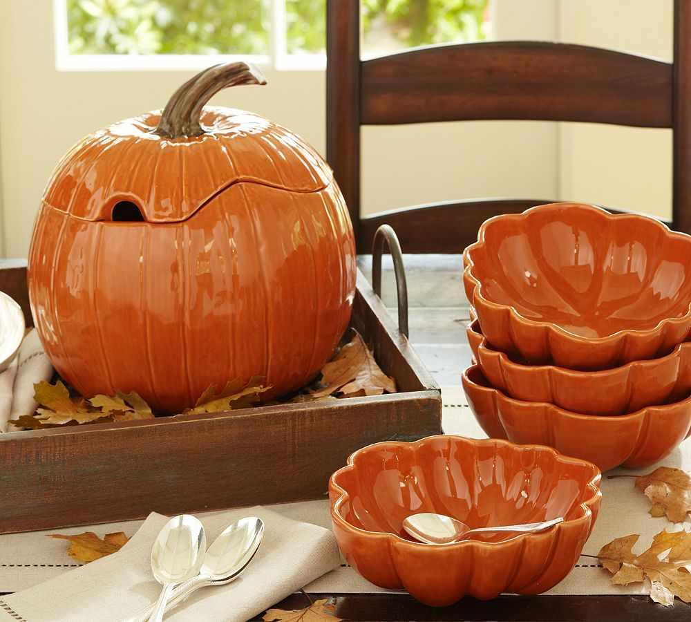 Посуда на хэллоуин