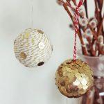 Пример украшенных шариков