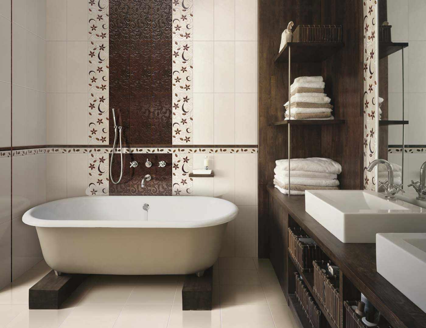 Швы под цвет плитки в ванной