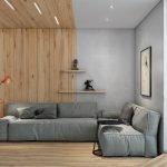 Вагонка на стене и потолке