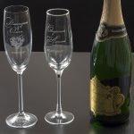Шампанское и бокалы