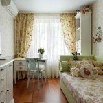 Детская комната в винтажном стиле